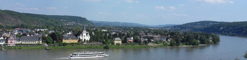 The town of Remagen